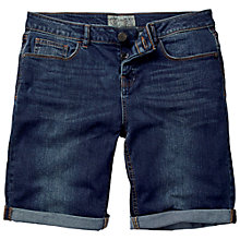 Buy Fat Face Dark Vintage Bermuda Shorts, Denim Online at johnlewis.com