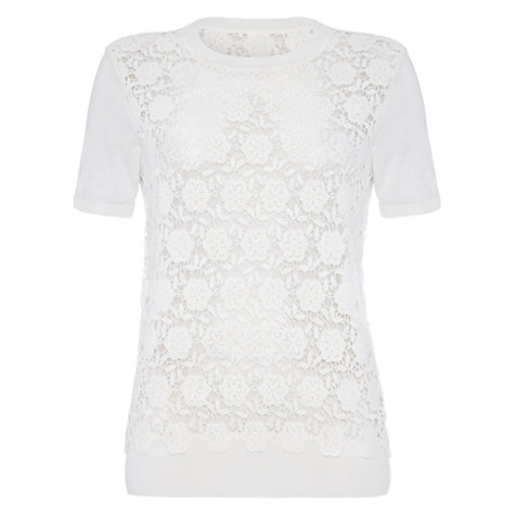 Buy Damsel in a dress Leros Jumper, Cream Online at johnlewis.com