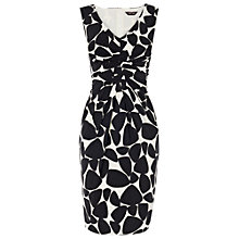 Buy Phase Eight Pebble Dress, Black/Ivory Online at johnlewis.com