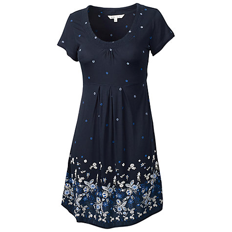 Buy Fat Face Penny China Patchwork Dress, Navy Online at johnlewis.com