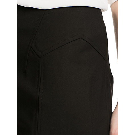 Buy Mango Fitted Skirt, Black Online at johnlewis.com