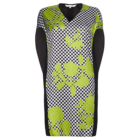 Buy Damsel in a dress Genoa Print Dress, Green Print Online at johnlewis.com