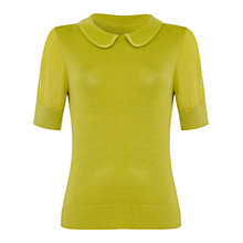 Buy Damsel in a dress Como Top, Chartreuse Online at johnlewis.com