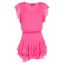 Buy Mango Chiffon Ruffled Dress Online at johnlewis.com