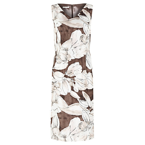 Buy Jacques Vert Floral Print Shift Dress, Multi Online at johnlewis.com