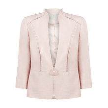 Buy Jacques Vert Shell Occasion Jacket, Pink Online at johnlewis.com