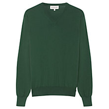 Buy Jigsaw V-Neck Cotton Jumper Online at johnlewis.com