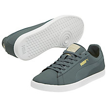 Buy Puma Modern Court Nubuck Trainers, Grey Online at johnlewis.com