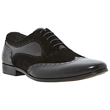 Buy Dune Ambrose Leather Oxford Shoes, Black Online at johnlewis.com