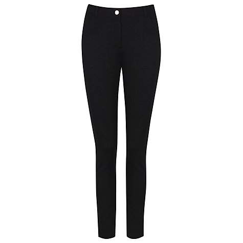 Buy Kaliko Ponte Jeans, Black Online at johnlewis.com