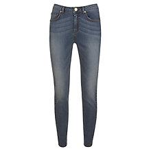 Buy Mint Velvet Skinny Jeans, Mid Indigo Online at johnlewis.com