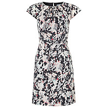 Buy Kaliko Isla Print Dress, Grey Online at johnlewis.com