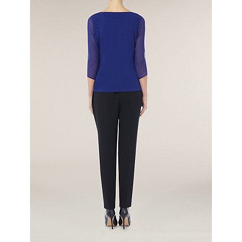 Buy Kaliko Soft Tapered Trousers, black Online at johnlewis.com