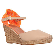 Buy KG by Kurt Geiger Monty Suede Wedge Heel Espadrilles Online at johnlewis.com