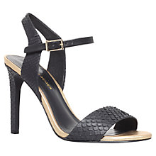 Buy KG by Kurt Geiger Leather Jamie Sandals Online at johnlewis.com