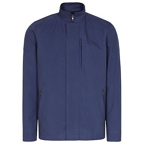 Buy Reiss Houston Modern Harrington Jacket, Blue Online at johnlewis.com