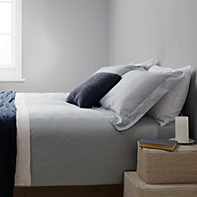 Buy John Lewis Croft Collection Braemar Stripe Bedding, Blue Online at johnlewis.com