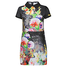 Buy True Decadence Tropical Organza Dress, Tropical Print Online at johnlewis.com
