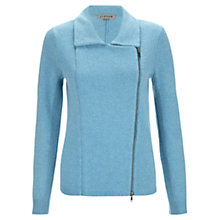 Buy Jigsaw Zip Biker Cardigan Online at johnlewis.com