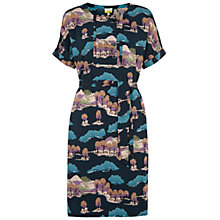 Buy NW3 by Hobbs Country Dress, Dark Teal Blue Online at johnlewis.com