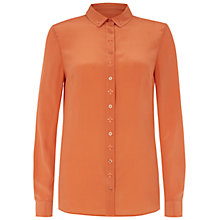 Buy NW3 by Hobbs Lulu Shirt, Persian Orange Online at johnlewis.com