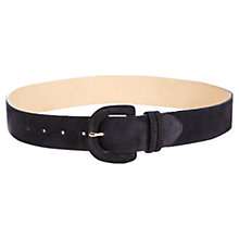 Buy Jigsaw Antibes Waist Belt, Navy Online at johnlewis.com