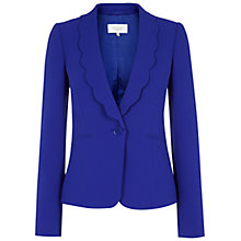 Buy Hobbs Invitation Clemency Jacket, Bright Blue Online at johnlewis.com