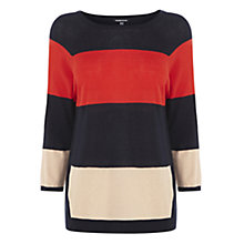 Buy Warehouse Stripe Block Jumper Online at johnlewis.com
