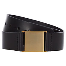 Buy Hobbs Unlimited Katherine Belt, Black Online at johnlewis.com