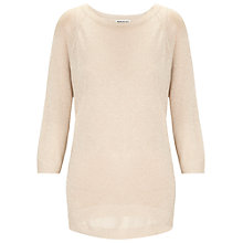 Buy Whistles Cream Olympia Jumper, Neutral Online at johnlewis.com