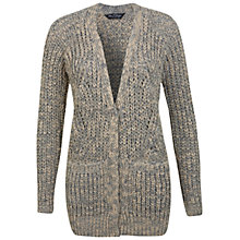 Buy Miss Selfridge Light Boyfriend Cardigan, Light Grey Online at johnlewis.com