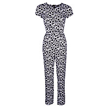 Buy True Decadence Snow Leopard Jump Suit, Snow Leopard Online at johnlewis.com