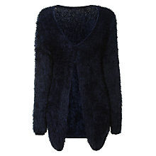 Buy True Decadence Soft Touch Cardigan, Navy Online at johnlewis.com