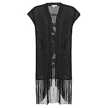 Buy True Decadence Embroidered Kimono, Black Online at johnlewis.com