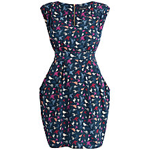 Buy Closet Bird Print Dress, Blue Print Online at johnlewis.com