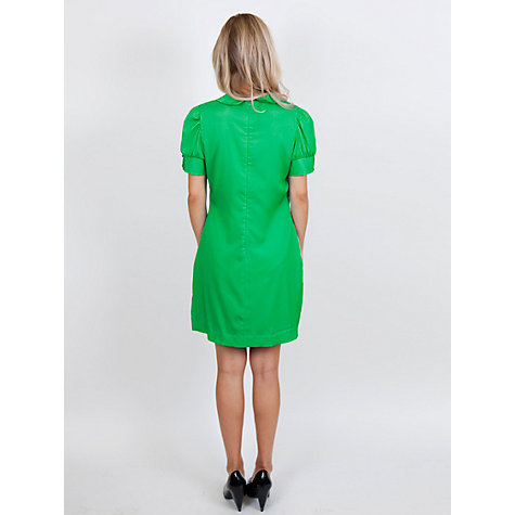 Buy Whistle & Wolf Daisy Print Jade Dress, Green Online at johnlewis.com