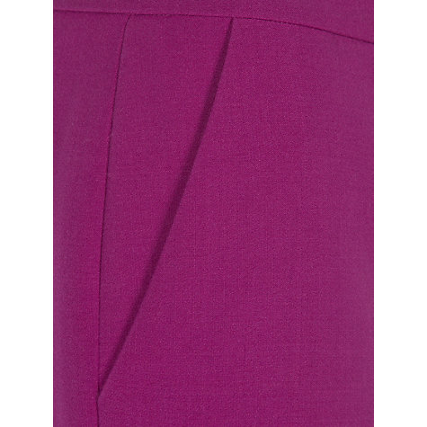 Buy Hobbs Krista Trousers, Violet Pink Online at johnlewis.com