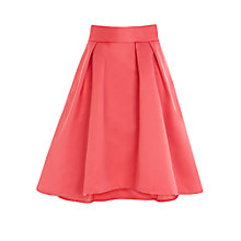 Buy Coast Aralynn Skirt, Pink Online at johnlewis.com