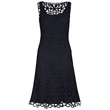 Buy Hobbs Invitation Sonia Dress, Navy Online at johnlewis.com