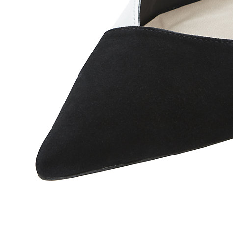 Buy Dune Carmella Mix Leather Suede Court Shoes Online at johnlewis.com