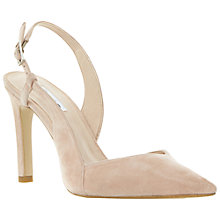 Buy Dune Carmella Court Shoes, Nude Online at johnlewis.com