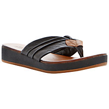 Buy Bertie Jainey Leather Flat Sandals Online at johnlewis.com