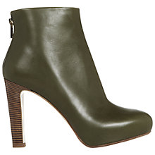 Buy Hobbs Harper Leather Ankle Boots Online at johnlewis.com