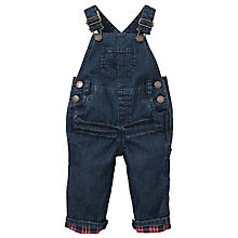 Buy John Lewis Denim Dungarees, Dark Blue Online at johnlewis.com