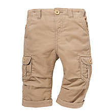 Buy John Lewis Corduroy Combat Trousers, Stone Online at johnlewis.com