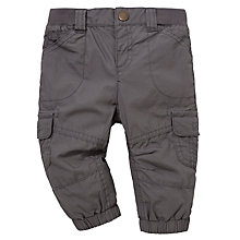 Buy John Lewis Poplin Trousers, Grey Online at johnlewis.com