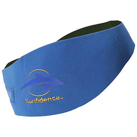 Buy Konfidence Aqua Head Band with Ear Plugs, Blue Online at johnlewis.com