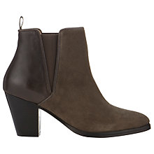 Buy Whistles Anita Leather Ankle Boots Online at johnlewis.com