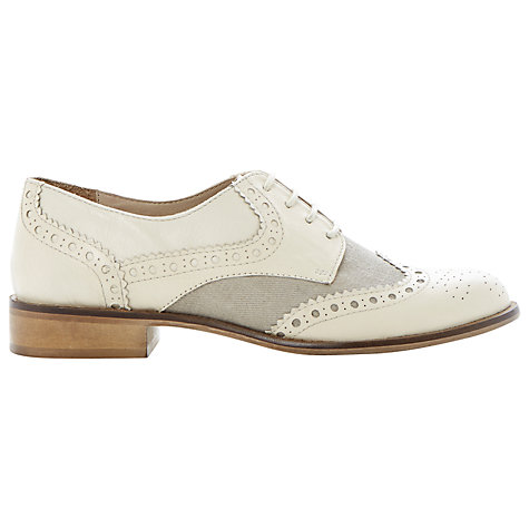 Buy Dune Langbury Leather Brogue Shoes Online at johnlewis.com