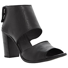Buy Dune Black Linette Leather Sandals Online at johnlewis.com